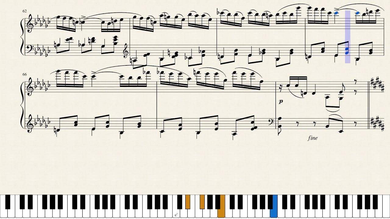 Mozart, polonaise [piano tutorial] youtube.