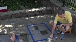 Paver Staining Tips - Test Area