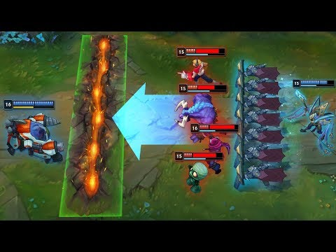 LEAGUE OF PERFECT COMBOS - 200 IQ Synergy - League of Legends