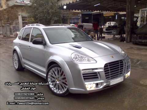 Modify Cayenne 2005 To Techart Magnum 2009 Youtube