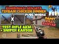 Kombinasi Senjata Terbaik di PUBG MOBILE (Akm x Kar98k) Langsung CHICKEN DINNER !