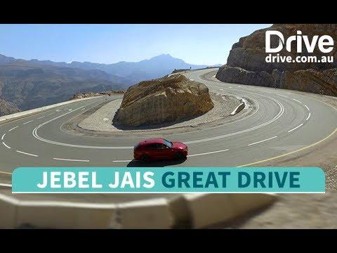 Great Drive Jebel Jais Mountain Road United Arab Emirates   Drive.com.au - Dauer: 4 Minuten, 48 Sekunden