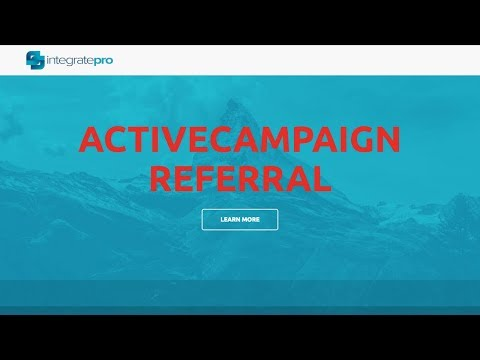 How to track your lead's referral information to their ActiveCampaign contact record.
