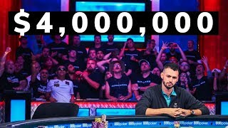 2019 World Series of Poker 3rd Place: Alex Livingston