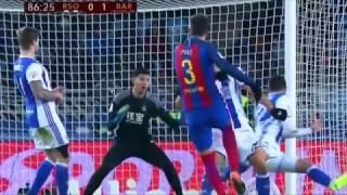 Реал Сосьедад 0:1 Барселона | Кубок Испании 2016/17 | 1/4 финала | Обзор матча 19.01.2017 [HD]