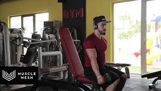 MUSCLEMESH Egzersizleri Reverse Grip Dumbell Alternate Front Raise - Omuz