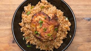 paprika chicken rice bake