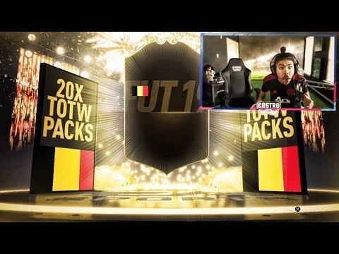 20 TOTW PACKS!! GUARANTEED TOTW SBC!! FIFA 19