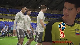 COLOMBIA VS ALEMANIA EN  RUSIA 2018 - SEMI FINAL