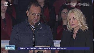 Funerali Frizzi, Clerici E Conti Leggono La Preghiera Degli Artisti - La Vita In Diretta 28/03/2018