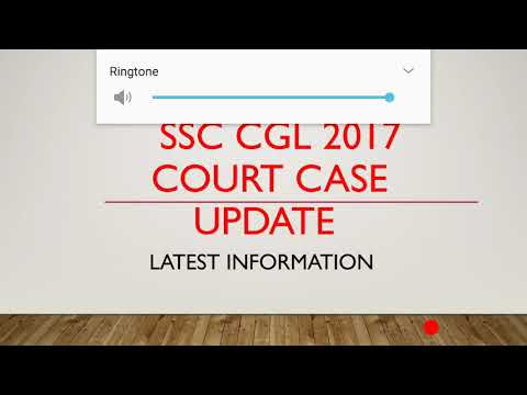 SSC CGL COURT CASE UPDATE
