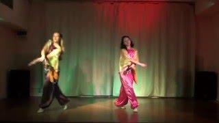 "Amr Diab-Nour El Ain.""Oriental dance""-Mariya Korenek,Anastasiya Grechenko."