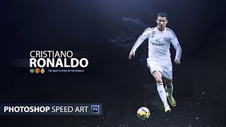 Photoshop Speed Art | Cristiano Rondaldo Poster