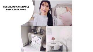 Huge Homeware Haul | Grey&Pink | The Range | Aldi | Ikea