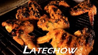 Grilled Orange Chicken Wings - Latechow: Episode 48