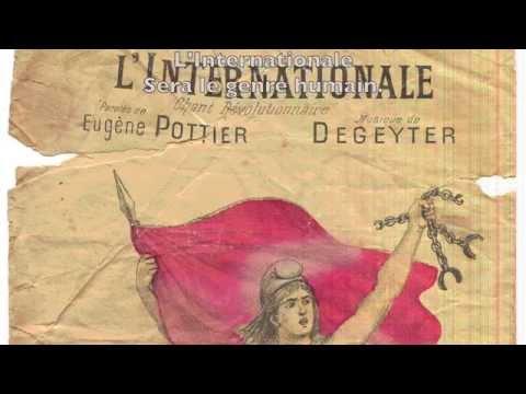 L'Internationale - Marc OGERET - Paroles (Français; Castellano; English)