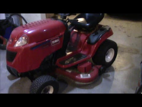 Toro Garden Tractor Tie Rod Steering Repair