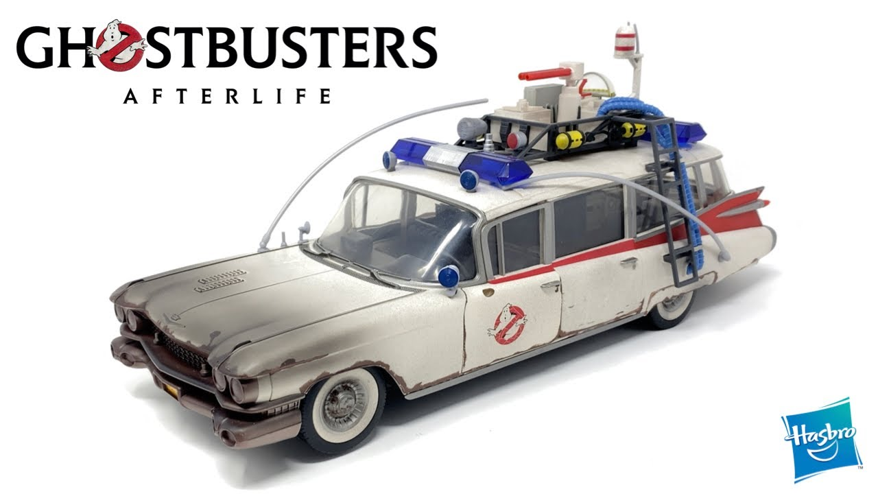 Hasbro Ghostbusters Plasma Series 1/18 ECTO-1 In-Hand Review by PrimeVsPrime
