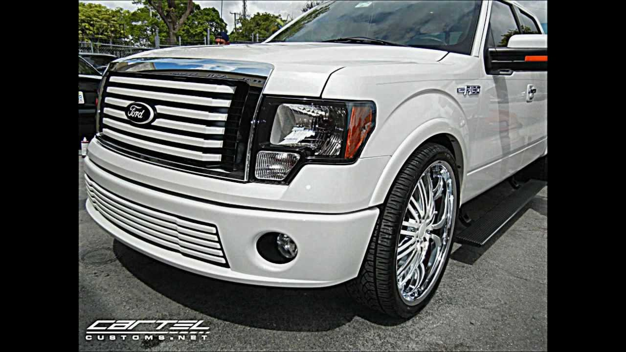 2012 Ford F-150 Limited on 26s @ cartel Customs Swirve Productions