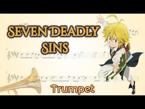 Nanatsu no Taizai opening 2 - Seven Deadly Sins (Trumpet)