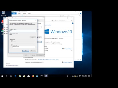 Tutorial Windows 2012 Configuration. Users, Groups, Organizational Units, Group Policy Objects