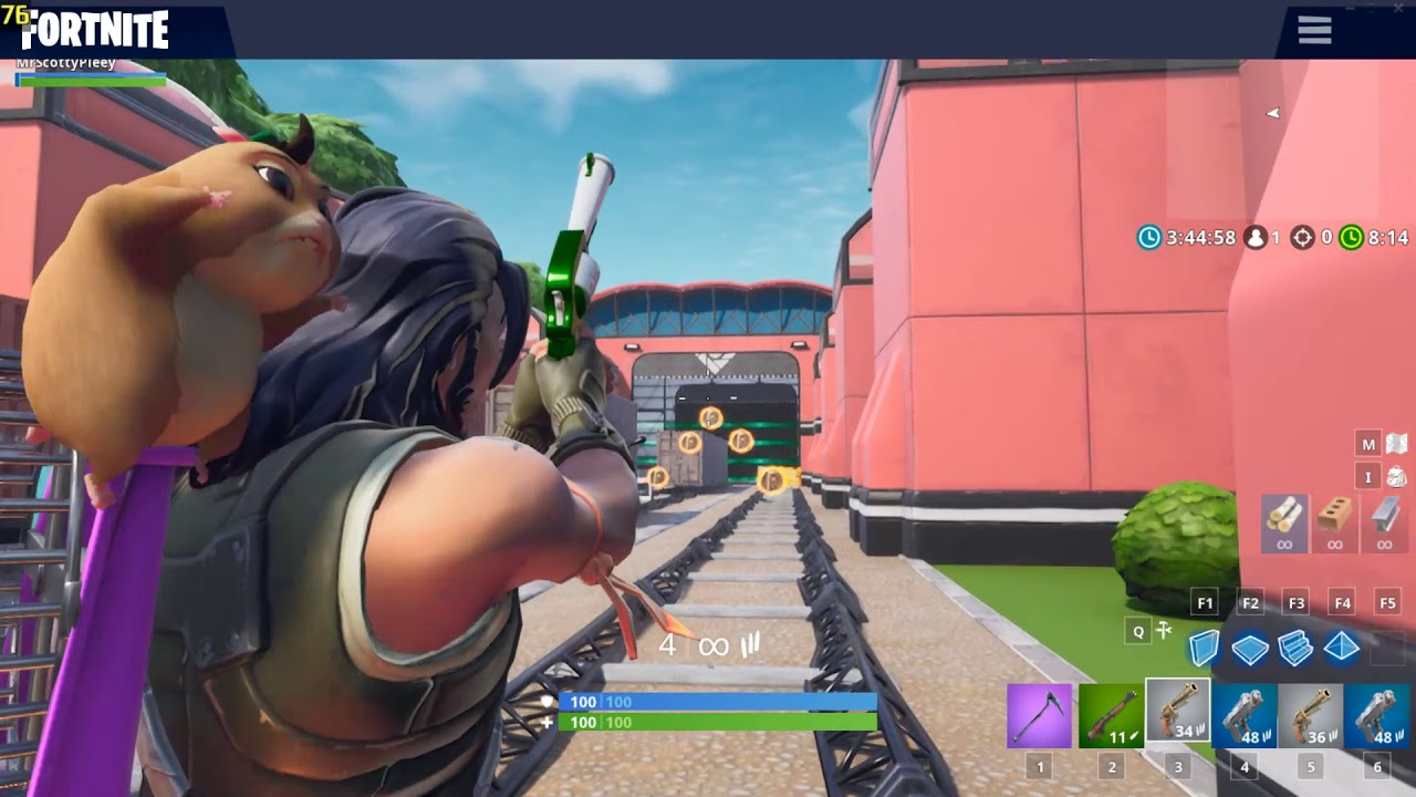 Creative Subway Map.Subway Surfers In Fortnite Creative Mode 1080p 60fps Map