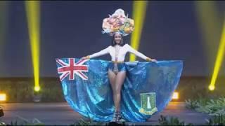 British Virgin Islands - National Costume - Miss Universe 2018