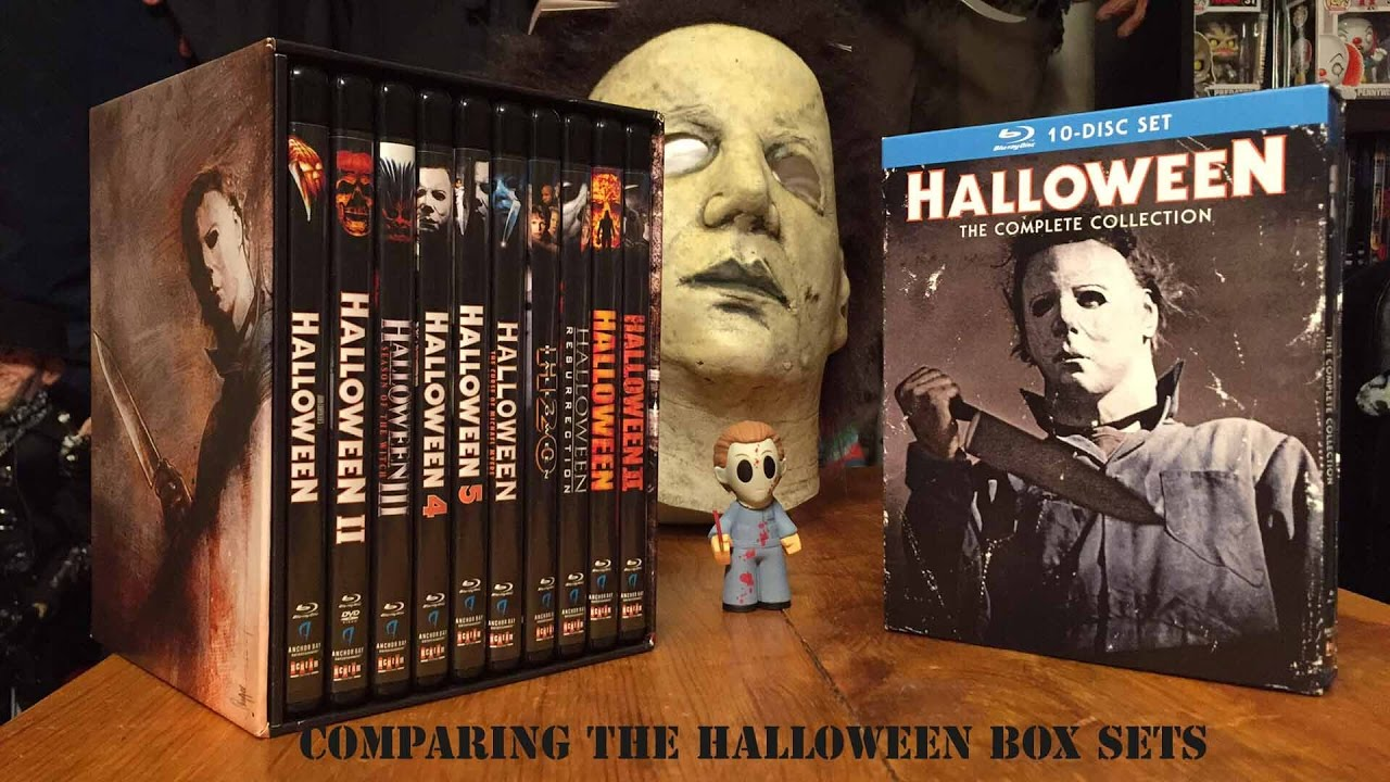 comparing the halloween complete collection box sets - youtube
