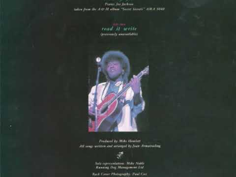 Joan Armatrading - Read It Write (rare b-side)