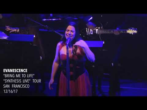 "Evanescence - ""Bring Me to Life"" - Synthesis Live - San Francisco"