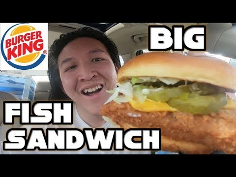Burger King's Big Fish Sandwich Food Review #272
