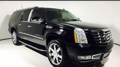 7R412 | 2007 Cadillac Escalade ESV AWD Executive Limo All Wheel Drive SUV | Scottsdale, AZ