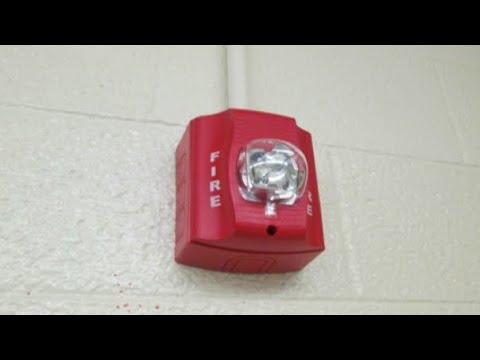 fire alarm goes off at junior high school 12 8 14 fire dept arrives another false alarm youtube. Black Bedroom Furniture Sets. Home Design Ideas