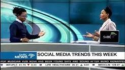 Social media trends this week: 25 August 2017