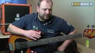 Sterling RAY35 by Music Man - video test gitary basowej w Infomusic.pl
