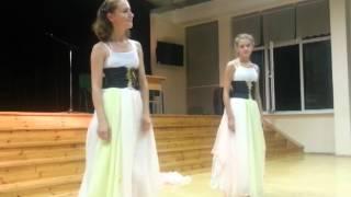 Шоу талантов - Выступление г.Миоры