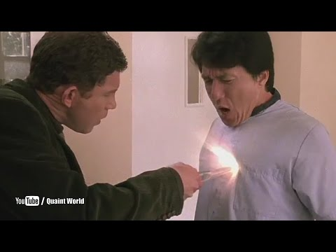 Jackie Chan And Lee Evans Funny   The Medallion 2003
