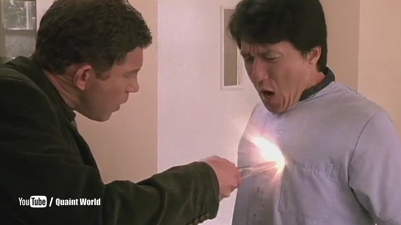 Download Jackie Chan And Lee Evans Funny Scene   The Medallion (2003)