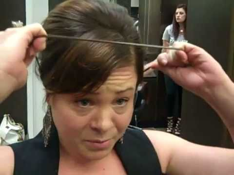 Mitchells Salon Day Spa How To Put Up Short Hair Youtube
