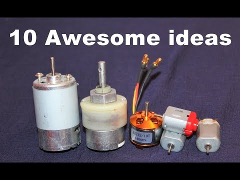 10 Awesome Useful Things From DC Motor - DIY Electronic Hobby