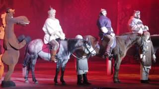 Crocus City Hall - новогоднее шоу Маша и Медведь + Три богатыря 2017