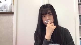 프로듀스48에 출연했던 모토무라 아오이(本村碧唯)의 2018년 10월 28일...