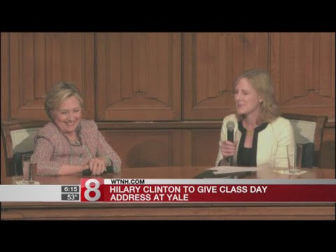 Hillary Clinton to give Class Day address at Yale