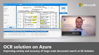 Azure Cognitive Services for OCR |  GE Aviation's Practical UseCase