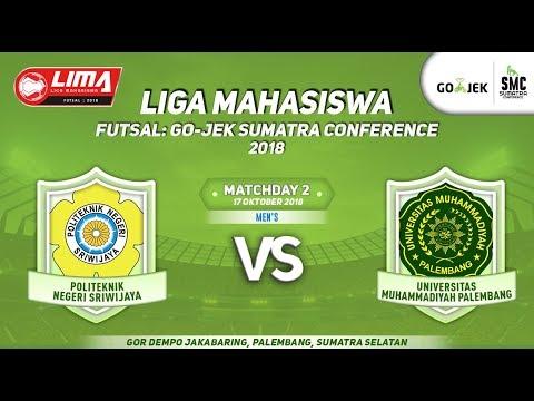 MENS POLSRI VS UMP LIMA Futsal : GOJEK SUMATRA CONFERENCE 2018