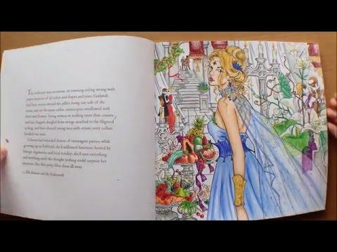 Throne Of Glass Colouring Book By Sarah J Maas Flipthrough Youtube