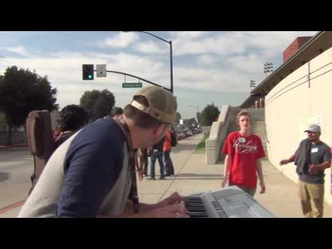 Jack Cassidy's solo outside of Burbank High School