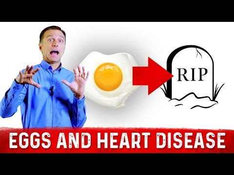 Eggs Increase Your Risk of Early Death from a  Heart Attack...NEW STUDY!