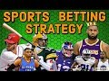 SPORTS BETTING STRATEGY - How to WIN Money Betting On Sports - 5 Tips