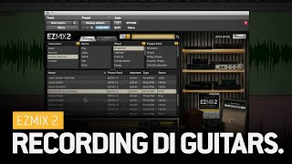 EZmix 2: Recording DI guitar